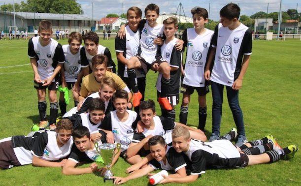 1 2 finales des coupes jeunes district des landes de football - Coupe des landes football ...