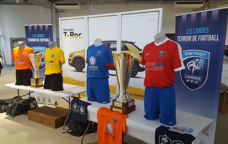 Les finalistes sont quip s district des landes de football - Coupe des landes football ...